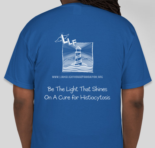 Histiocytosis Awareness Month Fundraiser - unisex shirt design - back