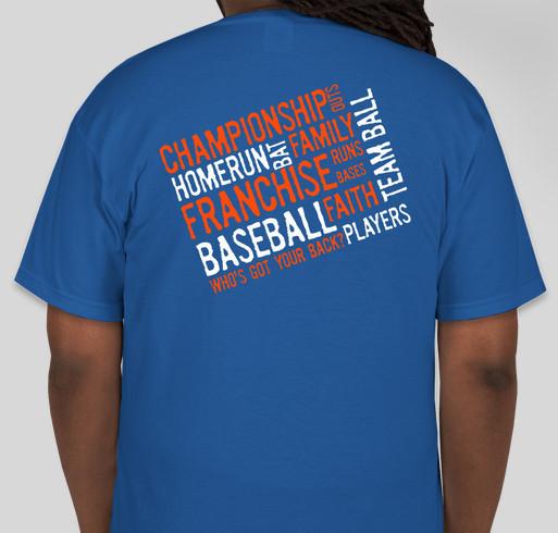 Franchise 8u blue fundrasier custom ink fundraising for T shirt printing franchise