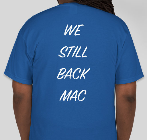 Mac Alumni T-shirt 2019 Fundraiser - unisex shirt design - back