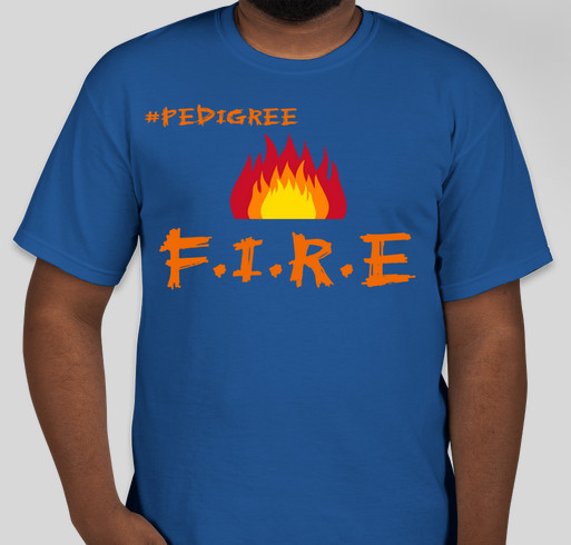 A digital campaign bought to you by the children of F.I.R.E. The technology workshop of the future Fundraiser - unisex shirt design - front