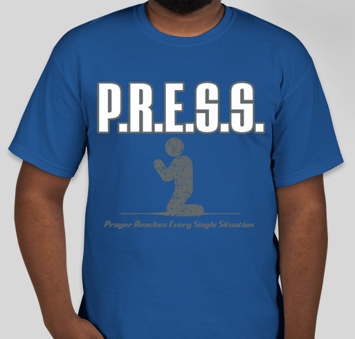 The P.R.E.S.S. Movement Fundraiser - unisex shirt design - front