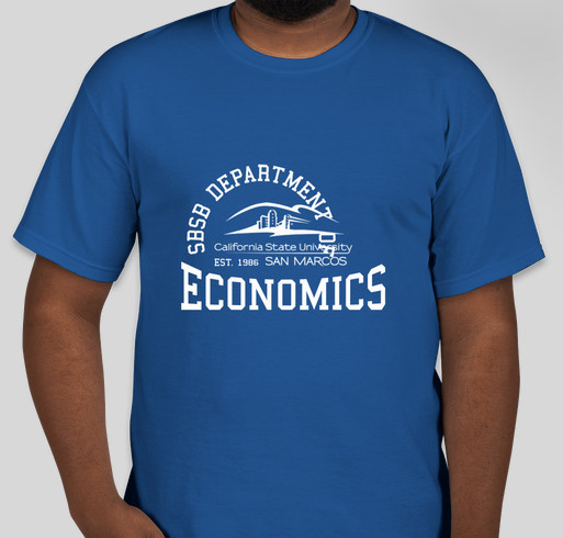 Econ club t shirts custom ink fundraising for Custom t shirts san marcos tx