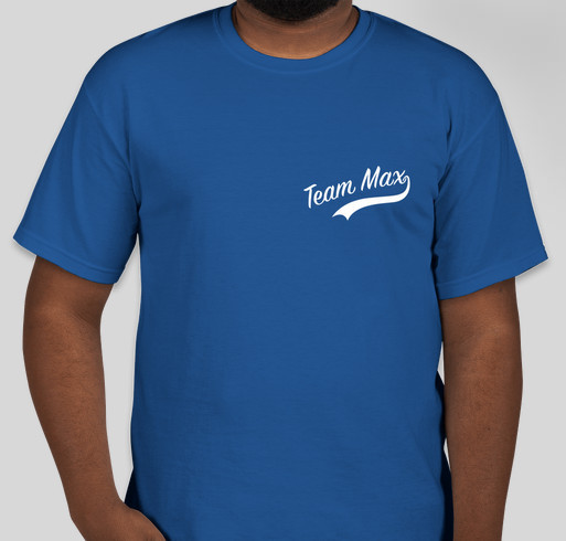 Supermax's T-shirt Round 2! Fundraiser - unisex shirt design - small - front