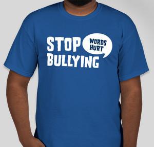 Bullying t shirt designs designs for custom bullying t for Custom t shirts international shipping