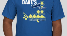 dave's band on tour