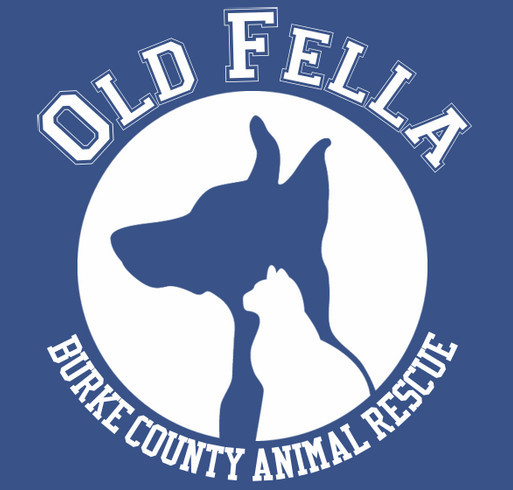 Old Fella Animal Rescue shirt design - zoomed