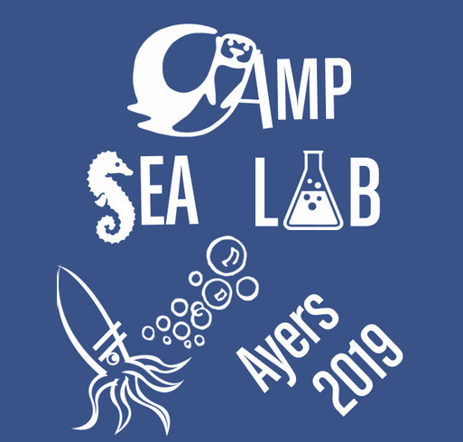 Camp SEA Lab 2019 shirt design - zoomed