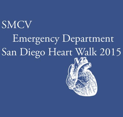 Scripps Mercy Chula Vista Emergency Department shirt design - zoomed