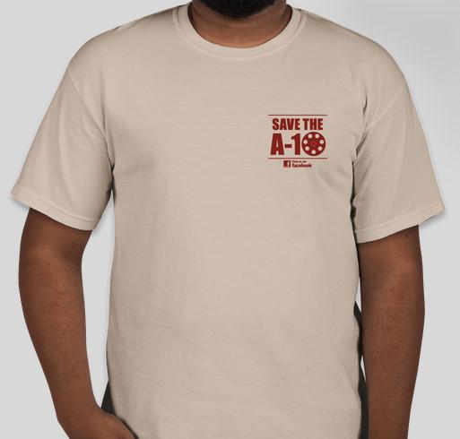 Save the A-10 Fundraiser for Chuck Norris' Charity, KickStart Kids! Fundraiser - unisex shirt design - front