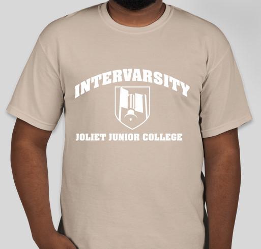 InterVarsity @ Joliet Junior College Fundraiser - unisex shirt design - front