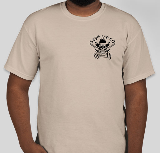 549th military police company tropic enforcers custom ink for Military t shirt companies