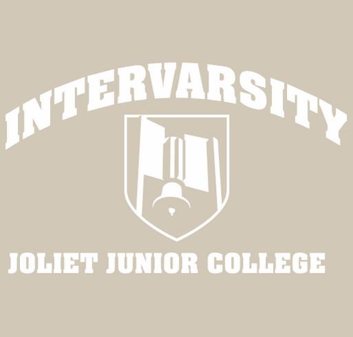 InterVarsity @ Joliet Junior College shirt design - zoomed