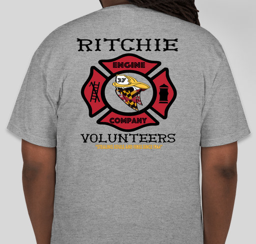 Ritchie Volunteer Fire Department T Shirts Custom Ink Fundraising