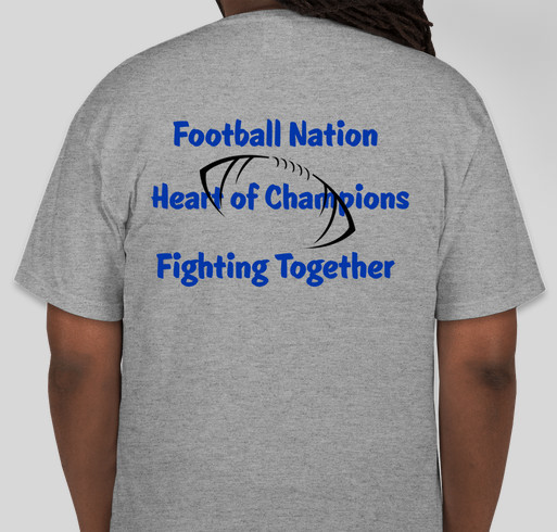 Harrah youth football association fundraiser online for Youth football t shirt designs