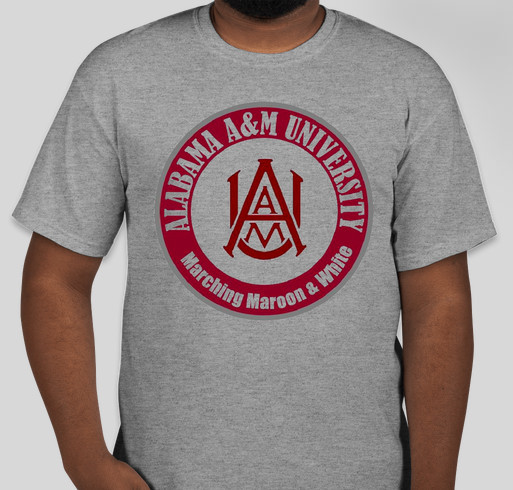 Aamu band t shirt booster custom ink fundraising for Custom t shirts under 5 dollars