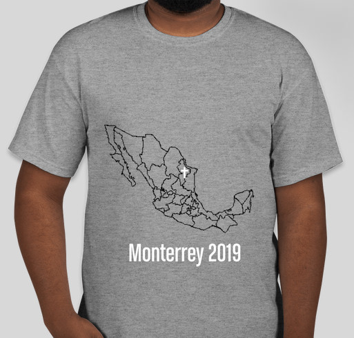 Morgan's 2019 Missions Trip To Monterrey Mexico Fundraiser - unisex shirt design - front