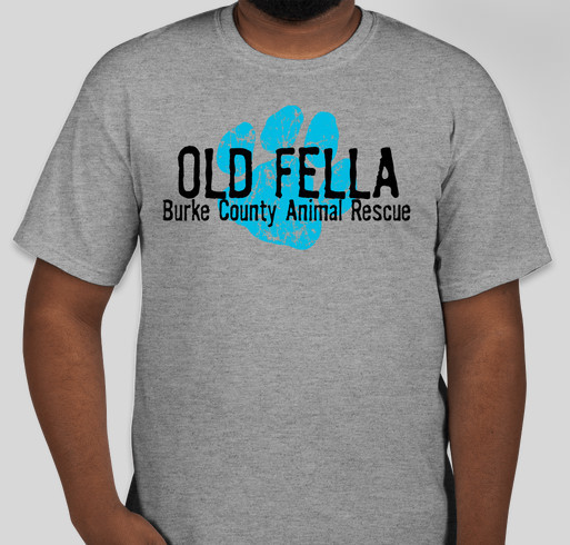 Old Fella Animal Rescue Fundraiser - unisex shirt design - front