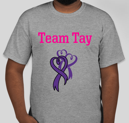 Tees for Tay Fundraiser - unisex shirt design - front