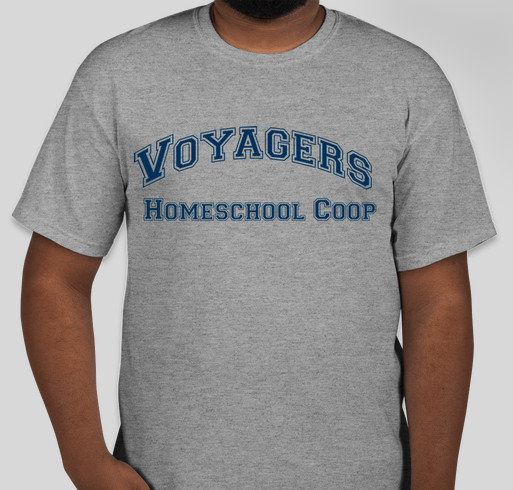 Voyagers Homeschool Cooperative Fundraiser - unisex shirt design - front