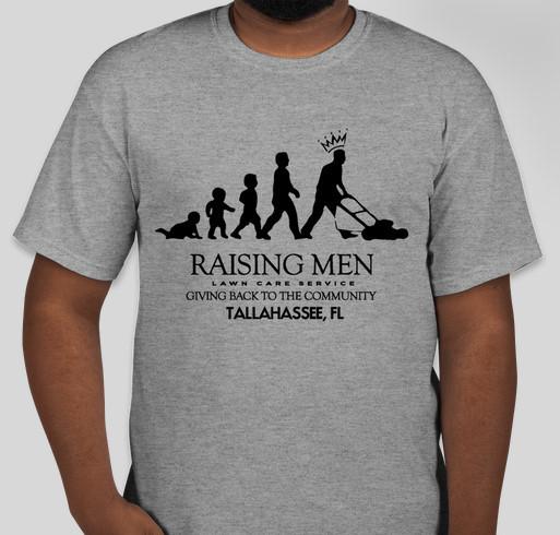 Raising men lawn care service florida t shirt custom ink for Lawn care t shirt designs