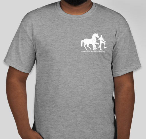 Stockhands Horses for Healing Shirts for Hay Fundraiser - unisex shirt design - front