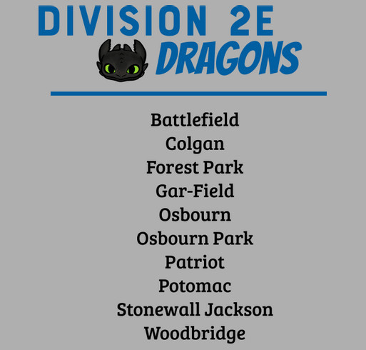 Division 2E shirt design - zoomed