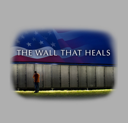 The Wall That Heals - 2018 Tour Across America shirt design - zoomed