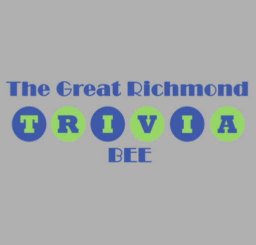 The Great Richmond Trivia Bee shirt design - zoomed