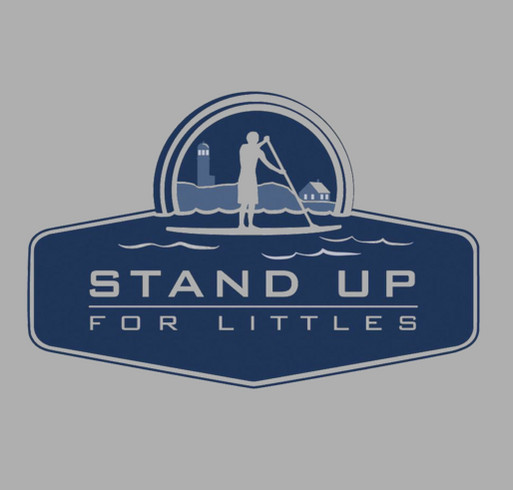 Stand Up for Littles shirt design - zoomed