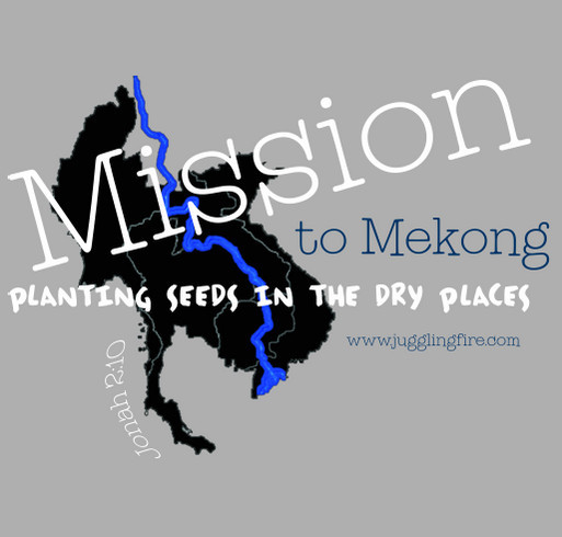 Mission to Mekong shirt design - zoomed