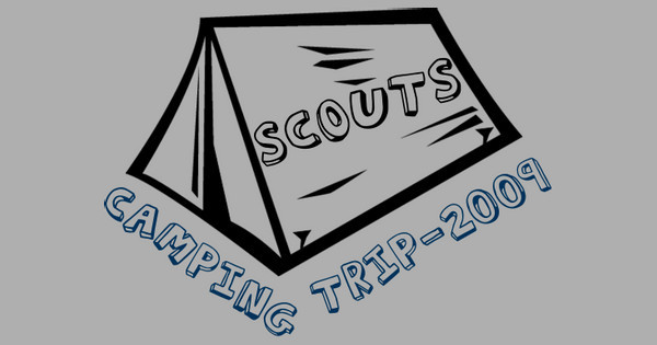 scouts camping trip