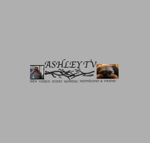 AshleyTv shirt design - zoomed