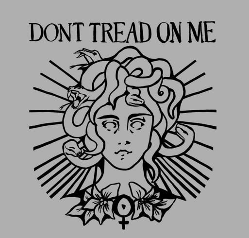 Don't Tread on Medusa shirt design - zoomed