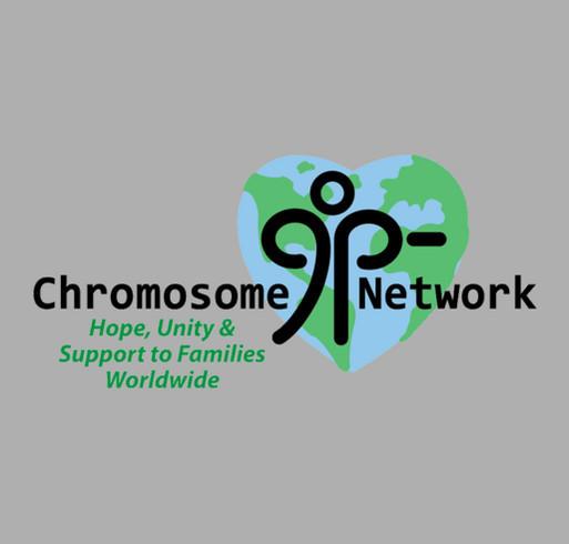 Chromosome 9p-Minus Network Awareness Day shirt design - zoomed