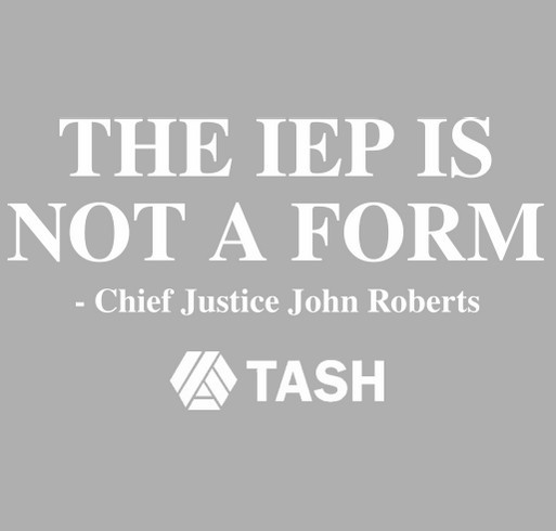 The IEP is Not a Form shirt design - zoomed