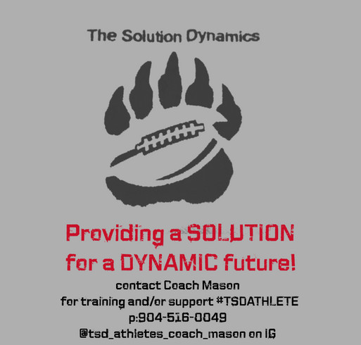 The Solution Dynamics shirt design - zoomed