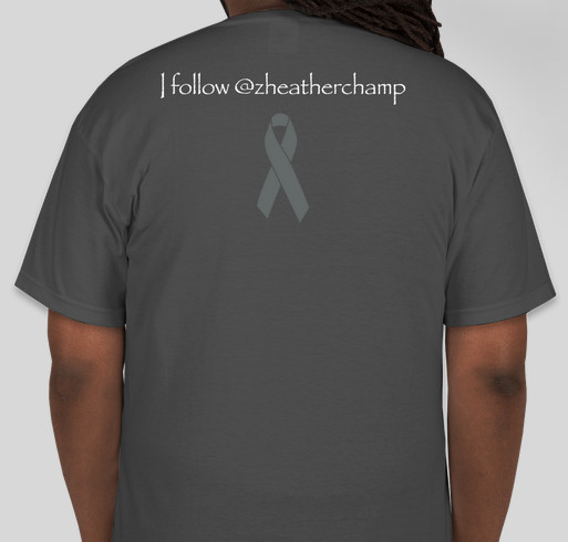 Heather's Rare Disease Medical Fund Fundraiser - unisex shirt design - back