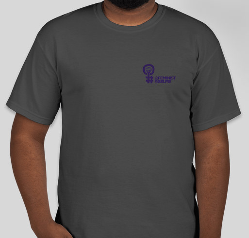 #365FeministSelfie Midwest Conference Fundraiser - unisex shirt design - front