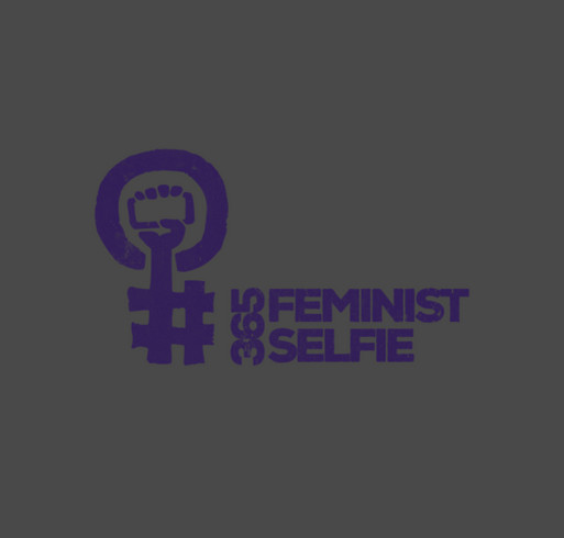 #365FeministSelfie Midwest Conference shirt design - zoomed
