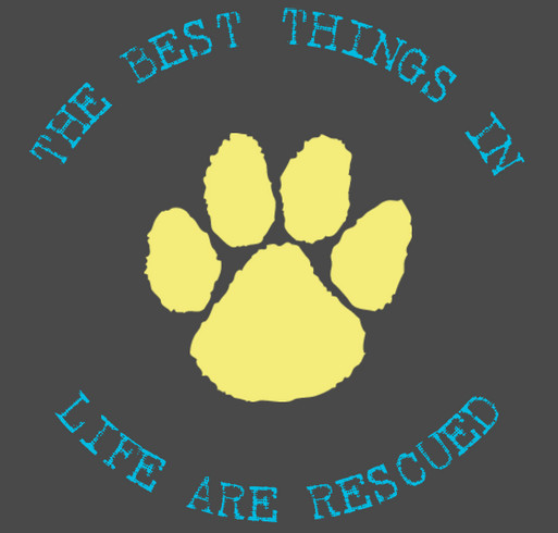 RESCUE ON shirt design - zoomed