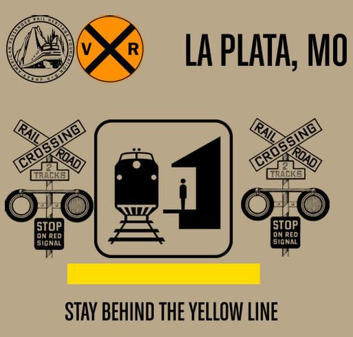LaPlata Railroad Days Keith Thomas T-Shirt shirt design - zoomed