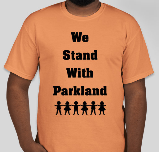 Image result for images of children with we stand with parkland t-shirts