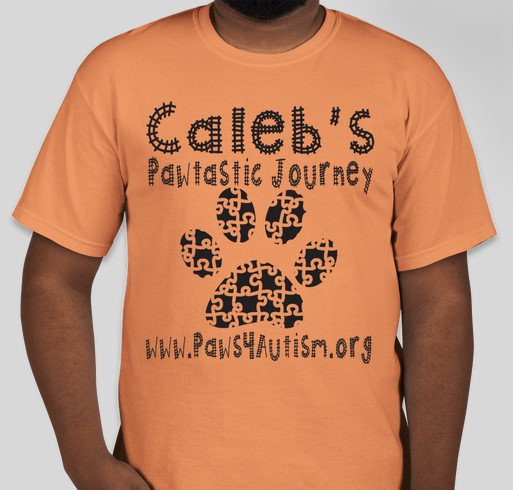 Caleb's Pawtastic Journey Fundraiser - unisex shirt design - small