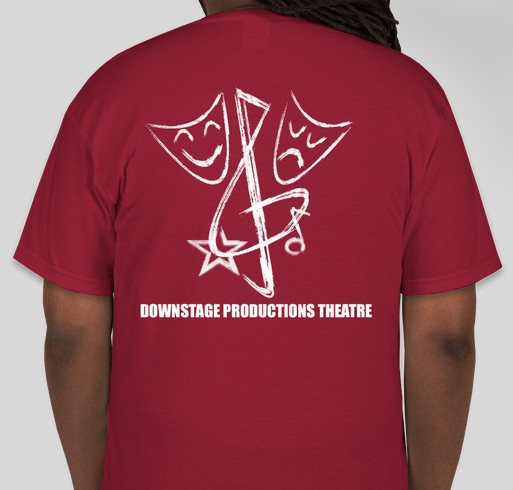 Downstage productions t shirt fundraiser custom ink for Non profit t shirt fundraiser