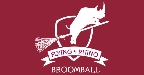 Flying Rhino Broomball