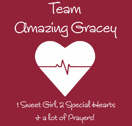 Team Amazing Gracey! shirt design - zoomed