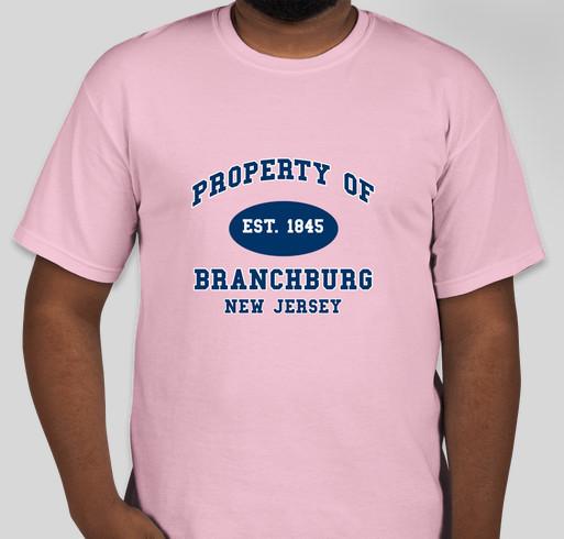 Bpto property of branchburg spring spirit wear custom ink for Property of shirt designs