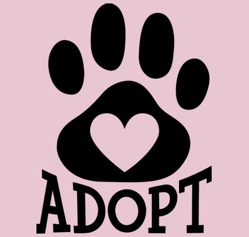 We rescue, rehabilitate & re home dogs that suffer from abuse, neglect, illnesses or special needs. shirt design - zoomed