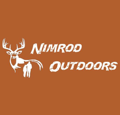 Nimrod Outdoors shirt design - zoomed