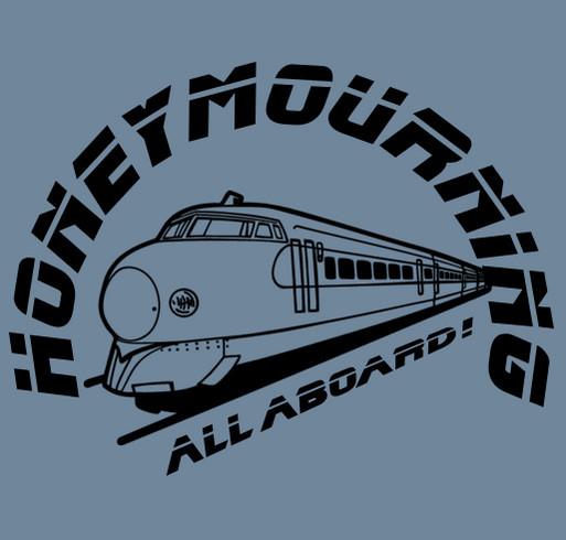 Honeymourning: A Posthumous Honeymoon shirt design - zoomed